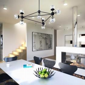 Visualisation, Render, Graphic, architecture, double willa, prefabricated, tiles, flowers, interior design,austrian architects